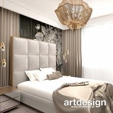Luksusowa sypialnia w ciepł...