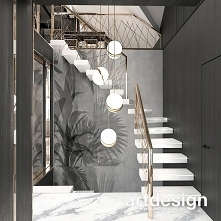Schody o tak lekkiej konstrukcji, że wydaje się, jakby unosiły się w powietrzu! ;) | CATCH THE WIND | Wnętrza domu