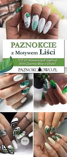 Paznokcie z Motywem Liści – TOP 20 Niesamowitych Stylizacji Które Zawrócą Wam...