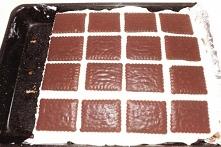 Ciasto cegiełka z budyniem ...