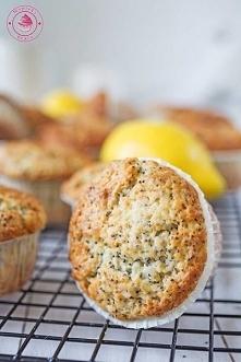 Cytrynowe muffinki z makiem...