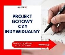 Zastanawiasz się nad wyborem projektu? Zobacz jakie są wady i zalety projektów gotowych i indywidualnych.