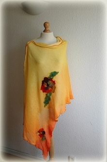 Summer delikate poncho