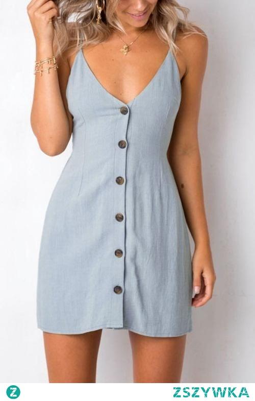Krótka sukienka na lato