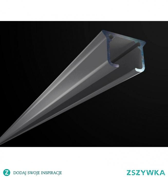 Szara szyna aluminiowa ZS-200 Creativa to elegancki, wysokiej jakości karnisz pojedynczy. Karnisz wykonany z aluminium, pomalowany proszkowo na szary kolor. Szary karnisz ZS-200 Creativa montowany jest do sufitu na kołki montażowe które występują w zestawie. Szare szyny aluminiowe łączymy na dłuższe odcinki po przez KS łączniki. Szare karnisze Creativa są estetyczne, praktyczne w kolorze Ral 9006