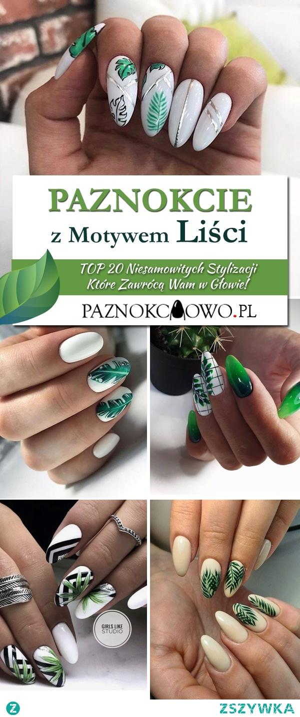 Paznokcie z Motywem Liści – TOP 20 Niesamowitych Stylizacji Które Zawrócą Wam w Głowie!