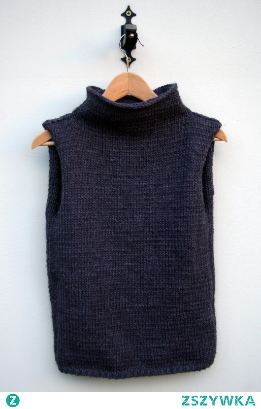 sweter/bezrękawnik