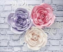Kwiaty na ścianę, ścianka kwiatowa, duże kwiaty z papieru, kwiaty na ślub, kwiaty do kościoła, dekoracje na przyjęcia, dekoracje na eventy, kwiaty na chrzest święty