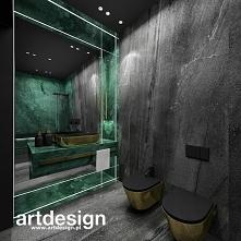 Designerskie wnętrze toalet...