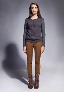 Przecena,Sweter z warkoczow...