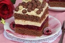 Ciasto Malinowy Pocałunek