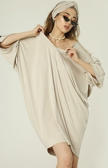 Madnezz Oversizowa sukienka...