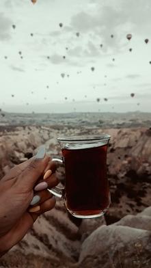 Herbatka o 5 rano, Kapadocja, Turcja czerwiec 2019