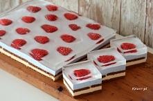 Przepyszne ciasto piankowe! Bardzo prosty przepis, wygląda wspaniale. Czas na...