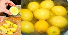 Ugotowała cytryny i piła to...