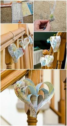 Papierowe dekoracje:)