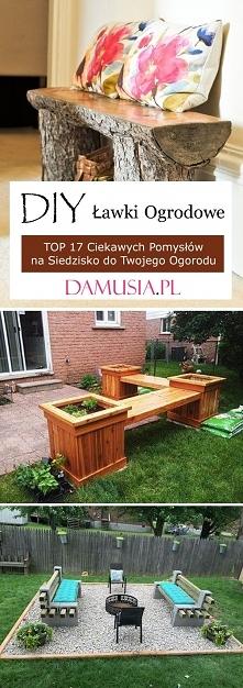 DIY Ławki Ogrodowe – TOP 17...
