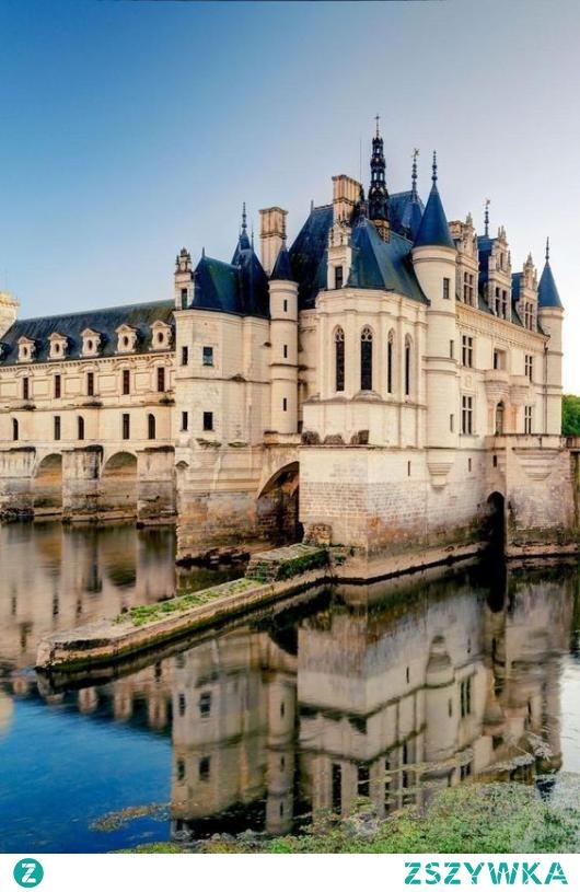 Zamek Chenonceau we Francji ❤️ Świetne puzzle, polecamy!