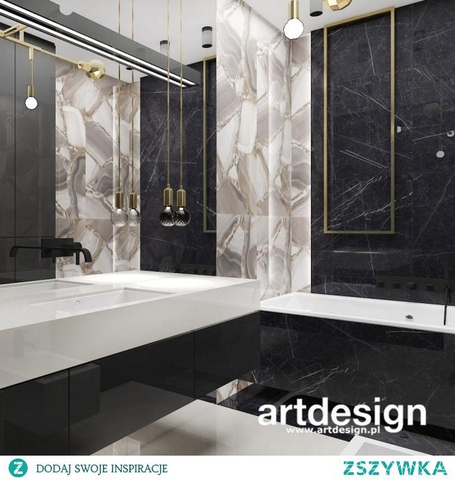 Elegancka łazienka   PURE GENIUS   Wnętrza domu