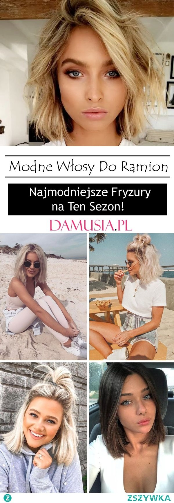 Modne Włosy Do Ramion – Najmodniejsze Fryzury na Ten Sezon!
