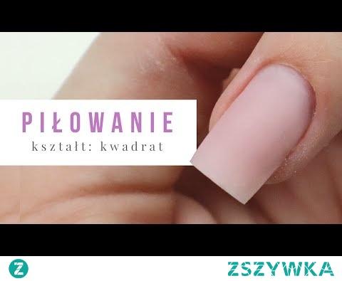 Przedłużanie paznokci : Kwadrat