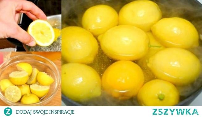 Ugotowała cytryny i piła to codziennie, a po miesiącu…