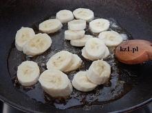 Banany w karmelu.
