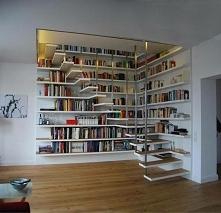schody biblioteczka