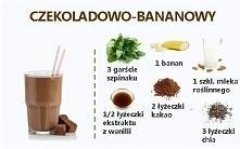 Koktajl czekoladowo-bananowy