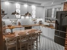 Biała żaluzja drewniana w kuchni to wybór Pani Małgorzaty. Jak Wam się podoba...