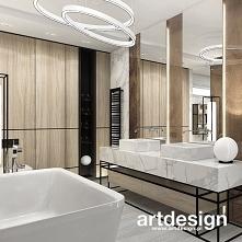 Nowoczesna łazienka w bieli...