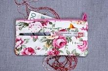 Angielskie róże - portfel w...