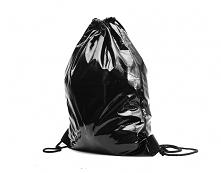 Plecak worek czarny lateks ...