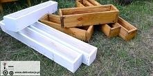 Przedstawiam jak samodzielnie wykonać doniczki drewniane. Bo po co kupować i ...