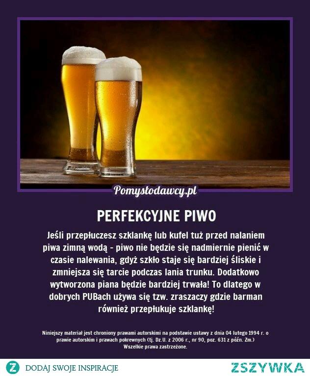 perfekcyjne piwo