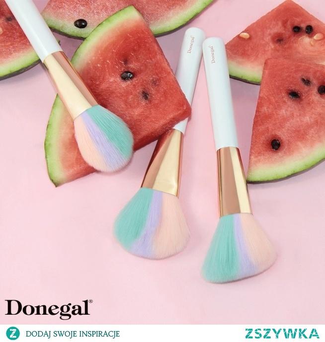Soczysty makijaż tylko z pędzlami   SORBET BRUSH by Donegal