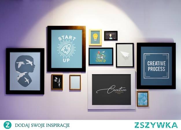 Kilka obrazów na ścianie, a jaki efekt :) Jeśli chcesz mieć u siebie takie lub podobne. Zapraszam do kontaktu