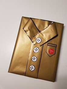 zapakowanie prezentu
