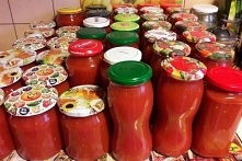 Przecier sok pomidorowy
