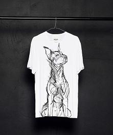 Doberman Pinscher t-shirt man