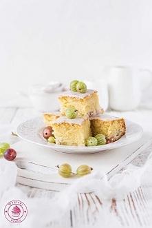 Waniliowe ciasto z agrestem - Najlepsze przepisy   Blog kulinarny - Wypieki B...