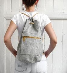 worek plecak - grey&och...