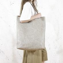 Mega Shopper torba beżowa n...