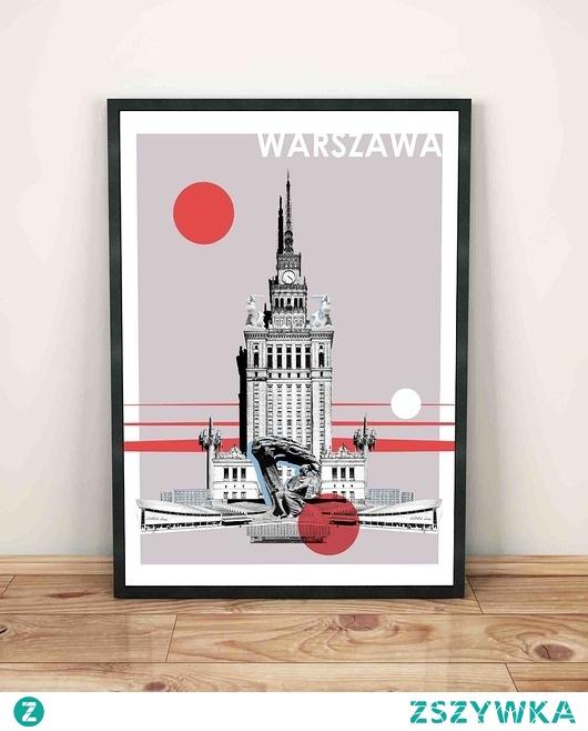 Plakat Warszawa 2 Na Plakaty Zszywkapl