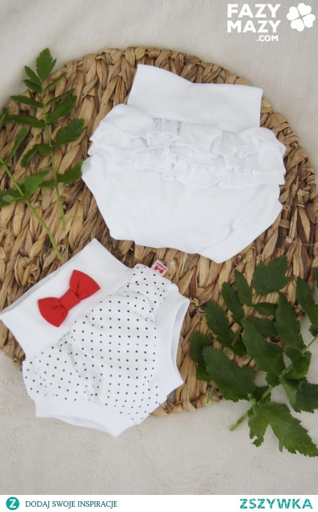 Co ubrać kiedy gorąco? bloomersy niemowlęce!