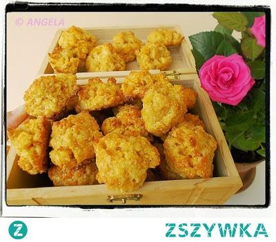 Ciastka z płatków kukurydzianych - Corn Flakes Tea Cakes - Biscotti con fiocchi di mais