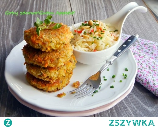 Grünkern-Burger,kotleciki z zielonego orkiszu