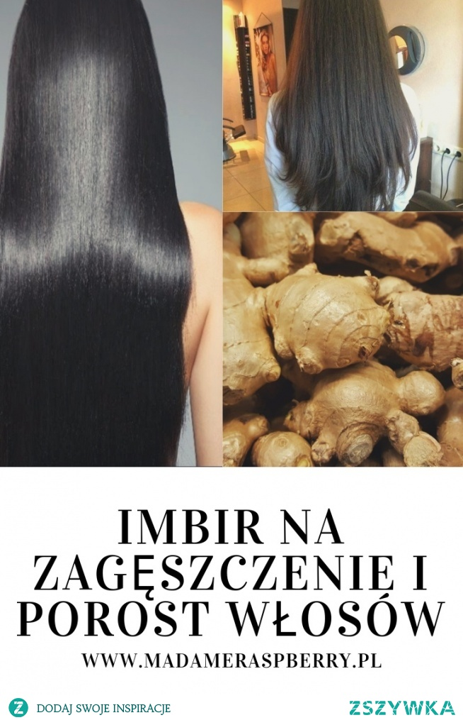 ZOBACZ JAK UŻYWAĆ IMBIR na szybki porost włosów:)  -> link w komentarzu