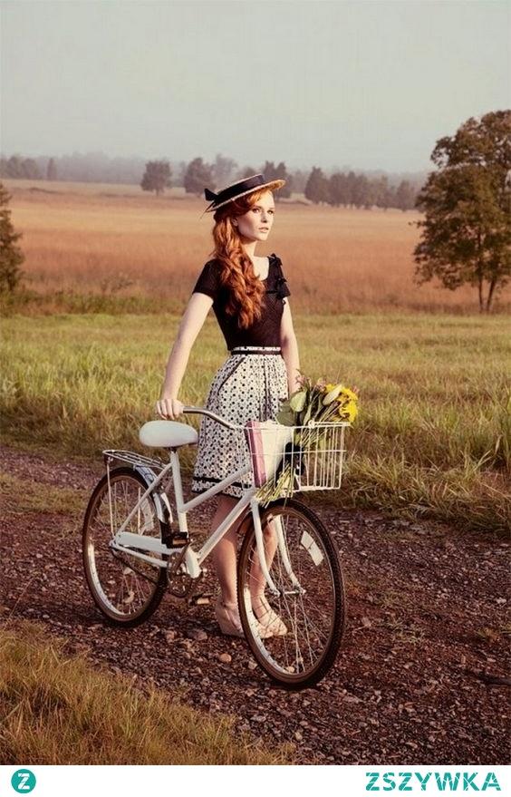 Rower zawsze kojarzy mi się z vintage.