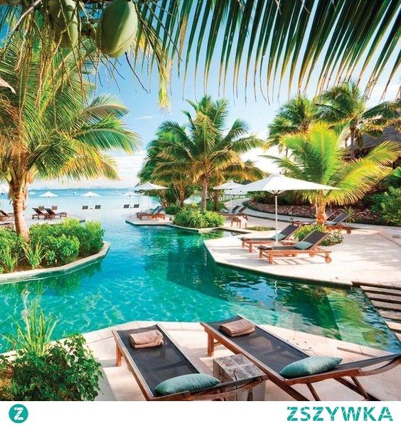Mega ładnie <3 Fidżi Likuliku Lagoon
